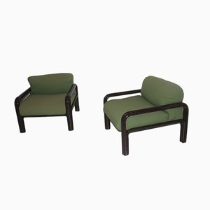 Armchairs by Gae Aulenti for Knoll, 1960, Set of 2