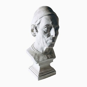 Decorative Art Bust by Giovanni Bastianini of Girolamo Benivieni, 1950s
