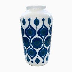 MCM 275 Edit Cobalt Porcelain Vase from Kaiser, 1960s