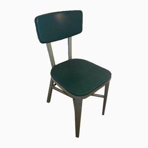 Italian Aluminum Desk Chair, 1950s