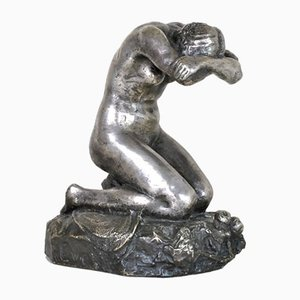 Eve Laethier, Silver Bronze Signed, 1929