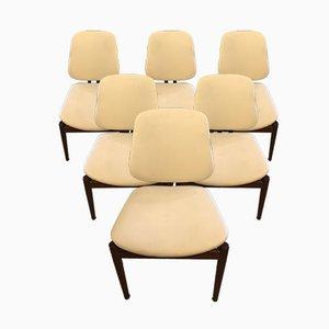 Chaises de Salon Modèle 203 Mid-Century par Arne Vodder pour France & Søn / France & Daverkosen, 1950s, Set de 6