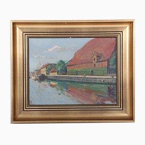 Svend Sinding Christensen, Gemälde, Dänische Kunst