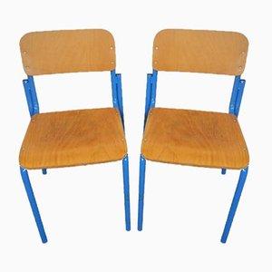 Italienische Schreibtischstühle von Vastarredo, 1980er, 2er Set