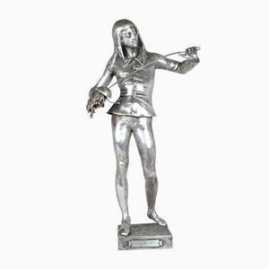 E Laporte, 1st Armes, Signé Bronze, 19ème Siècle