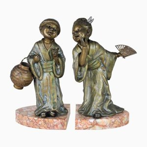 Bookends by Geo Maxim, Set of 2