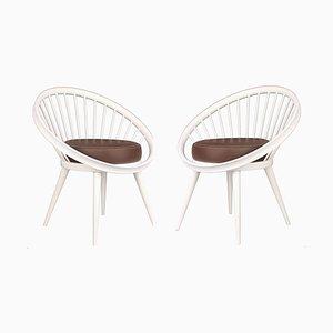 Dänische Modernistische Sessel von Yngve Ekström, 1960er, 2er Set