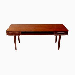 Danish Modernist Teak Coffee Table from Dyrlund, 1960s
