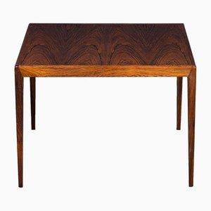 Mid-Century Danish Square Rosewood Coffee Table, 1960s