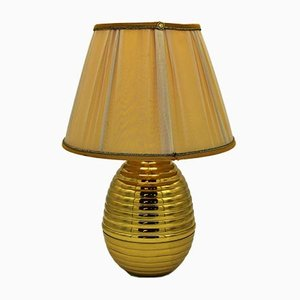 Vintage Table Lamp with Lampshade, 1960s