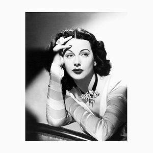 Seductive Hedy Archival Pigment Print Framed in White by Everett Collection