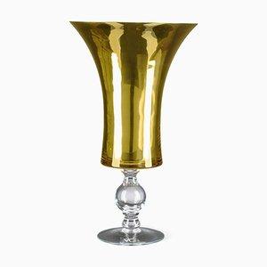 Taza Laura pequeña de vidrio dorado de VGnewtrend