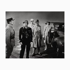 Archivierter Casablanca Pigmentdruck in Weiß