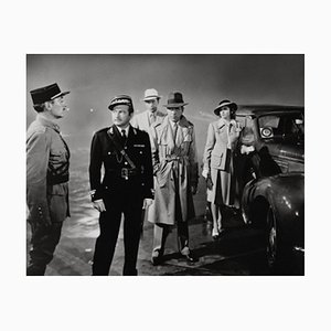 Casablanca Archival Pigment Print Framed in White