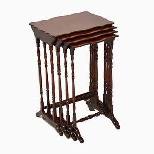 Mesas nido antiguas. Juego de 4