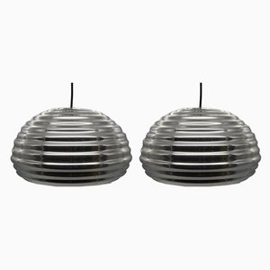 Splugen Brau Ceiling Lamps by Achille & Pier Giacomo Castiglioni for Flos, 1964, Set of 2