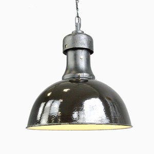Industrial Bauhaus Ceiling Lamp by AEG, 1920s