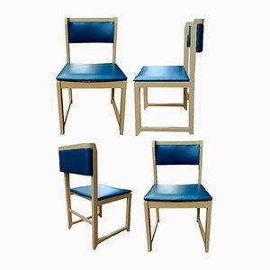 Modernist Dining Chairs, 1970s, Set of 4