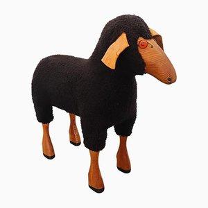 Wool Sheep Sculpture by Hanns-peter Krafft for Meier, 1970s