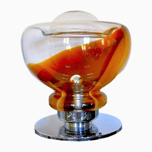 Murano Glas Tischlampe von Toni Zuccheri für VeArt, 1970er