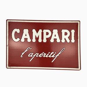 French Plastic Campari l'Aperitif Sign, 1970s