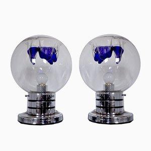 Lampes de Bureau par Toni Zuccheri pour VeArt, 1960s, Set de 2