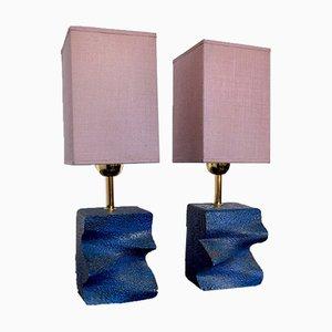 Lampes Brutalistes, Espagne, 1960, Set de 2