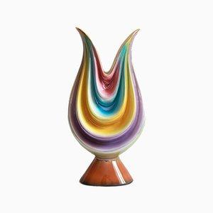 Tulipano, Mid-century Ceramic Vase, Italy, 1940s
