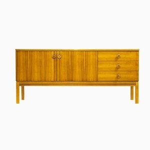 Walnuss Sideboard von Palette Möbelwerk, 1974