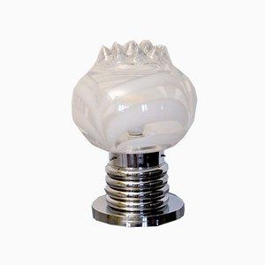 Italienische Murano Glas Tischlampe von Toni Zuccheri, 1970er