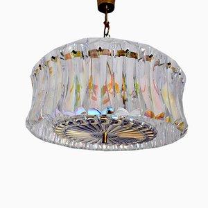 Italienische Deckenlampe von Paolo Venini für Venini, 1960er