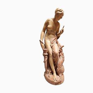 Skulptur aus Terrakotta von Carrier Belleuse