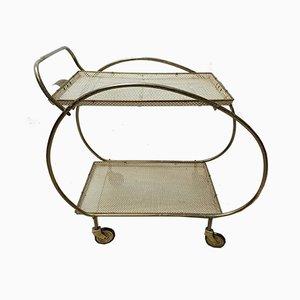 Mathieu Matégot Style Bar Cart, 1950s