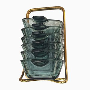 Ashtray with Frame by Wilhelm Wagenfeld for WMF, 1950s