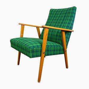 Swedish Beech Lounge Chair, 1950s
