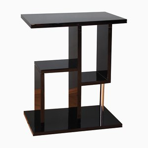 Cubist French Art Deco Side Table, 1930s