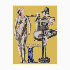 Thomas Gatzemeier, Three, Two, One, Printmaking Fetischmus, 2013