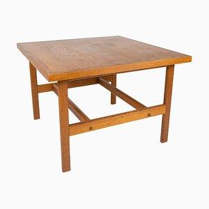 Tavolino da caffè in quercia di Hans J. Wegner, anni '60
