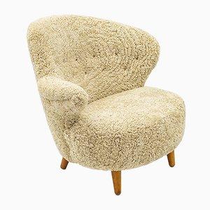 Asymmetrical Lounge Chair from Vik & Blindheim