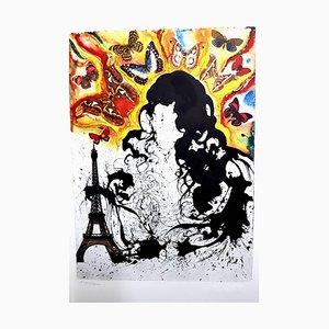 Salvador Dali, Paris, Lithografie, 1969