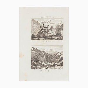Unknown, Chapelle D'Arrens, Radierung, 19. Jahrhundert