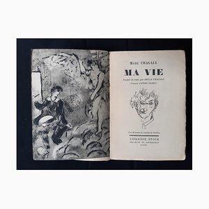 Marc Chagall, Ma Vie, Seltenes Vintage Buch von Marc Chagall, 1931