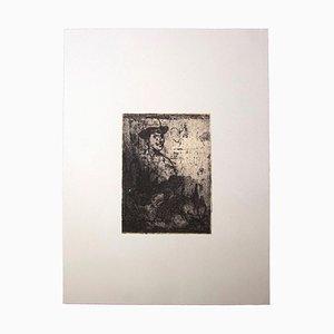 Franco Gentilini, Selbstbildnis des Künstlers, Offset, Mitte des 20. Jahrhunderts