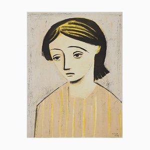 William Scott, Porträt eines Mädchens, 1948