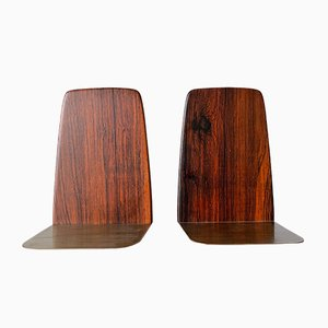 Rosewood Bookends by Kai Kristiansen, 1960s, Set of 2