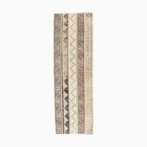Turkish Vintage Handmade Wool Rug