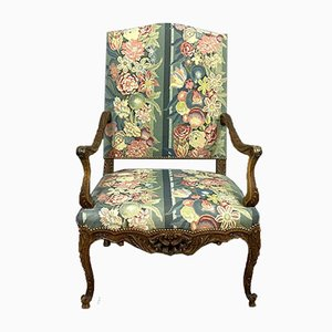 Louis XV Provencal Walnut Armchair