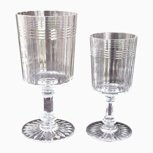 Antique Baccarat Model Chicago Water & Wine Glasses Set by Baccarat for Baccarat, Set of 23