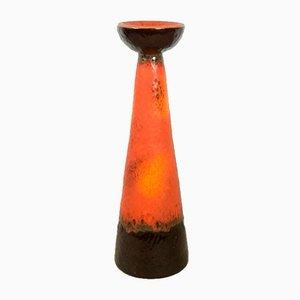 Großer Mid-Century Kerzenständer aus Keramik von Viktor Janaky, 1970er