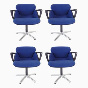 Model 190 Dining Chairs by Hans Roericht for Wilkhahn, 1970s, Set of 4